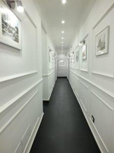 corridoio centrale del b&b rome central inn