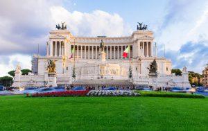 Il Vittoriano, monumento storico di Roma dedicato a Vittorio Emanuele II